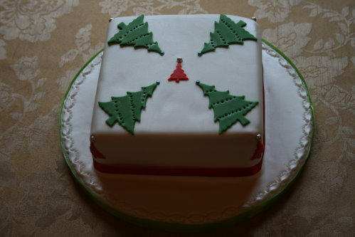 Square Xmas Cake Designs : The Village Cake Cake Ideas and Designs