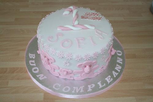 1st Birthday Cake Girl The Village Cake Station